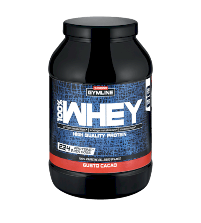 GYMLINE 100% WHEY PROTEIN CONCENTRATE CACAO