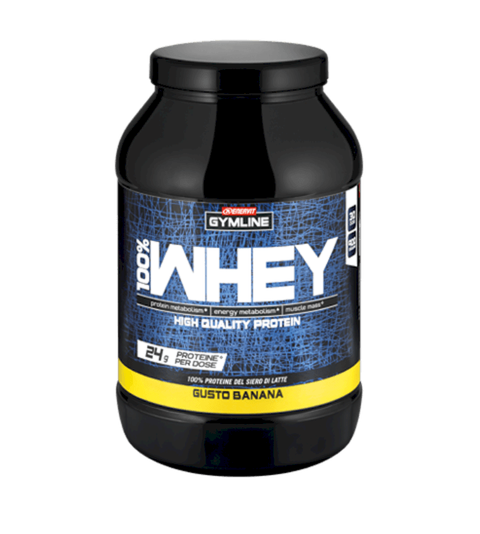GYMLINE 100% WHEY PROTEIN CONCENTRATE BANANA
