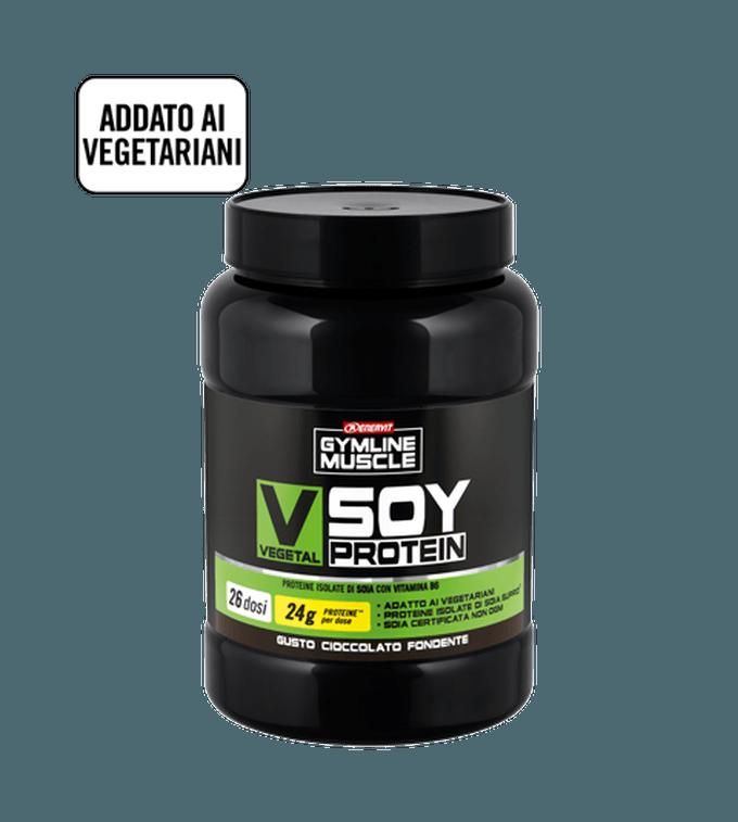 ENERVIT GYMLINE MUSCLE VEGETAL SOY PROTEIN CIOCCOLATO FONDENTE