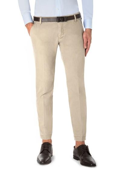 Beige American pocket short trouser