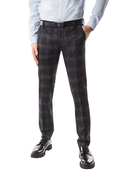 Long cotton trouser with American pocket