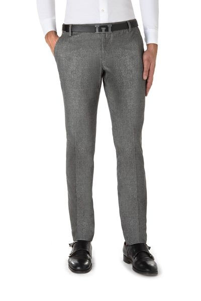 Wool American pocket long trouser