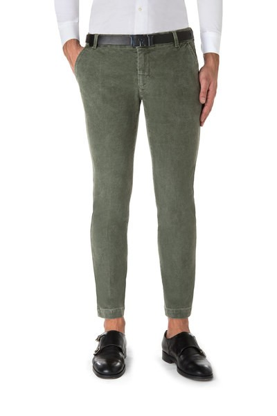 Dark green American pocket short trouser