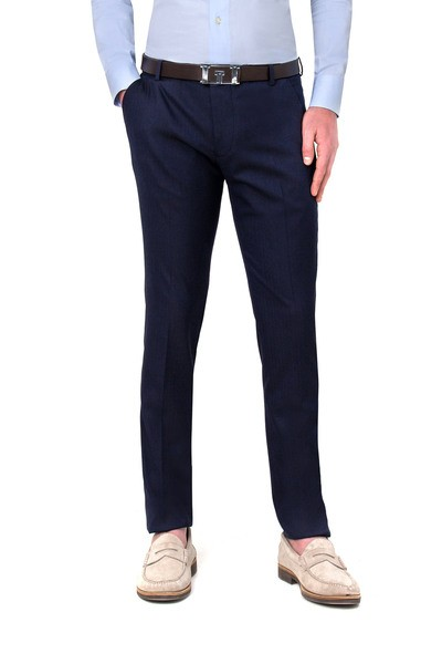 Long  blue American pocket pants