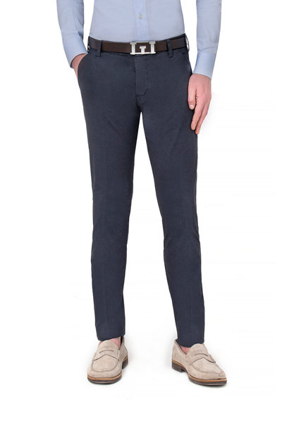 Long dark blue American pocket pants