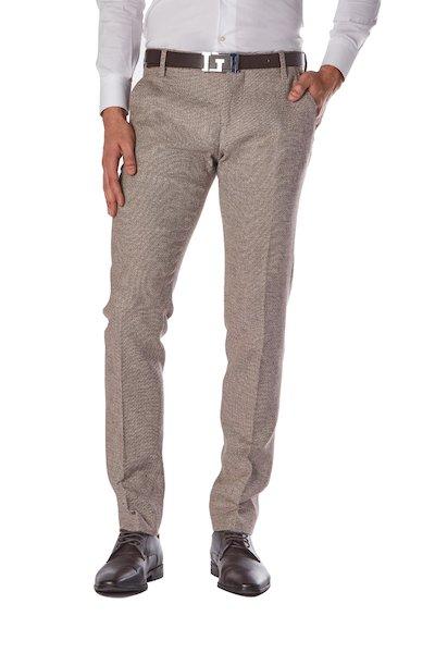 Regular waist- American pocket long trousers