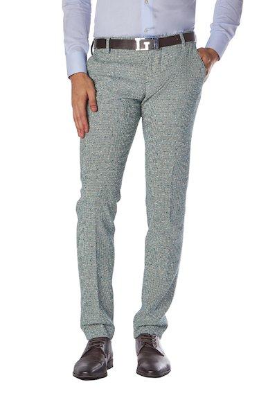 Smart American pocket long cotton trouser.
