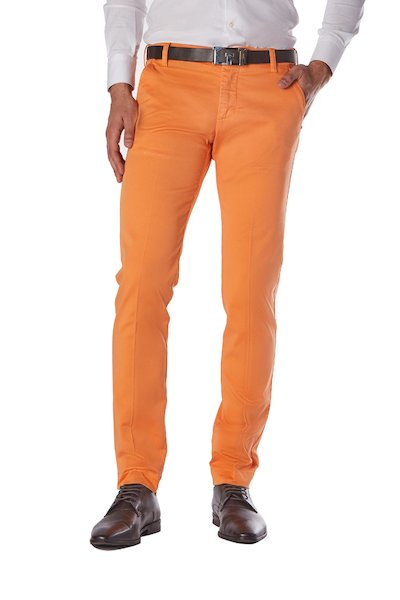 American pocket long cotton trousers with dry leg fit