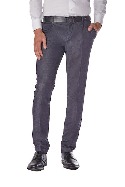 American pocket long trousers with pences