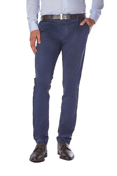 American pocket long cotton trousers with pences