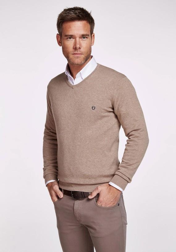 Jersey de pico algodón básico