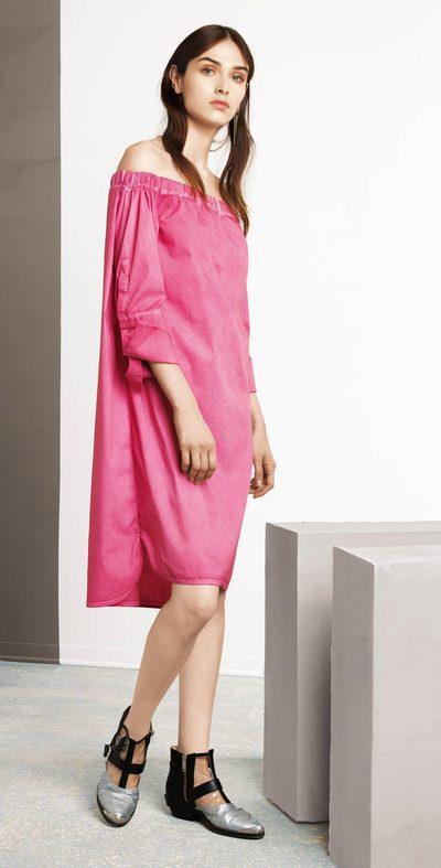 Sugar plum humeral neck dress