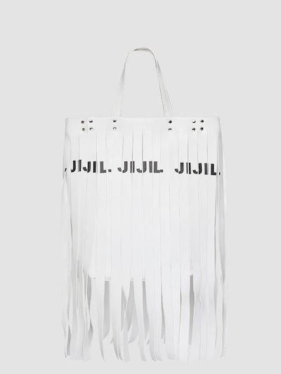 Fringes bag with logo