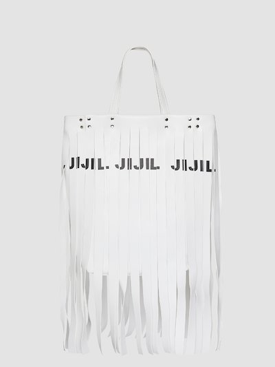 Fringes bag with logo