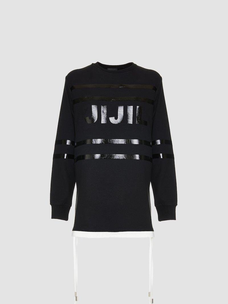 Sweatshirt with Jijil logo print