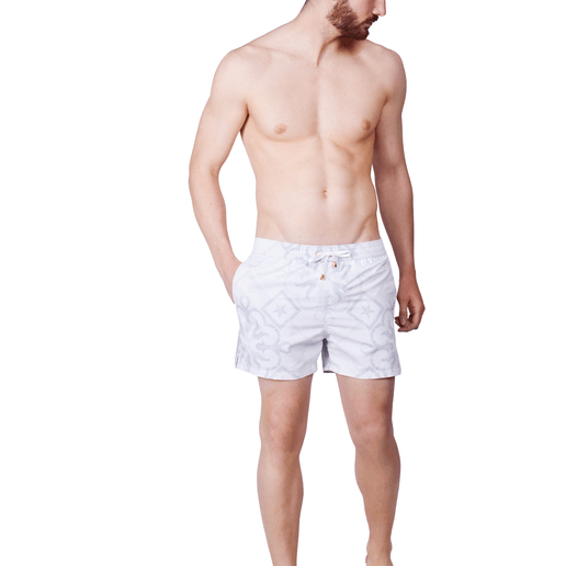 SWIMSHORTS GREY TILE