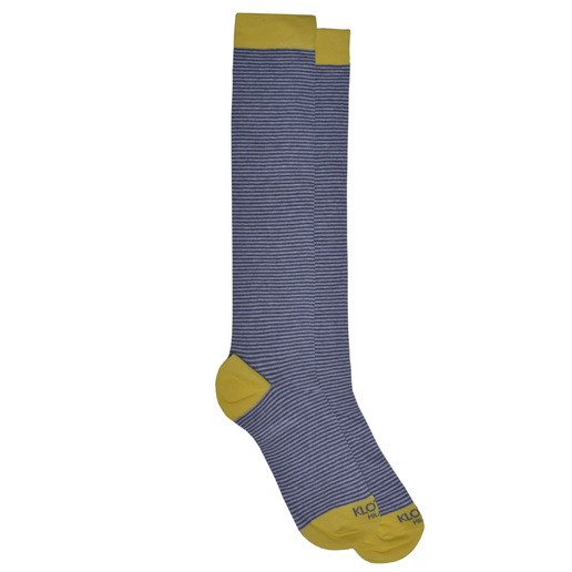 GREY STRIPED SOCKS