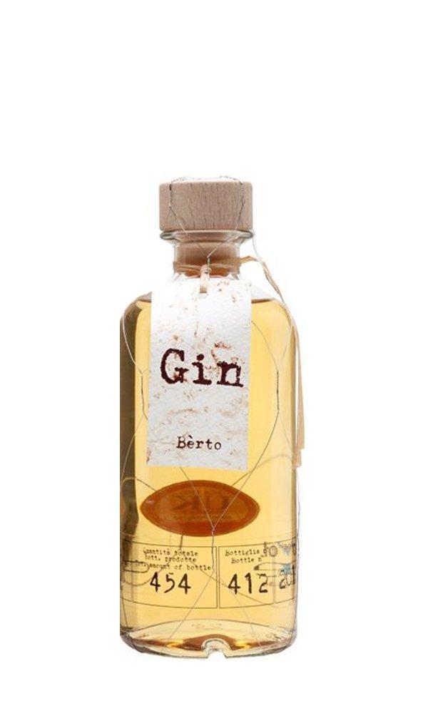 Gin Berto Juniperus Cask Finish by Antica Distilleria Quaglia (Italian Gin)