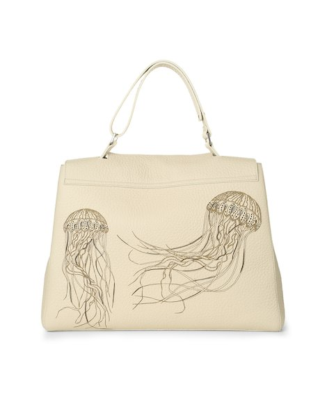 Orciani JELLYFISH LEATHER SVEVA BAG
