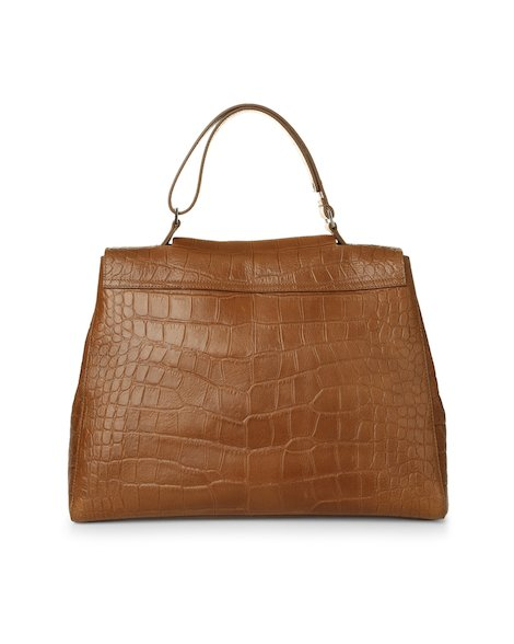 Orciani KENYA EMBOSSED LEATHER SVEVA BAG
