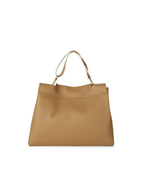 Orciani METALLIC LEATHER SVEVA BAG