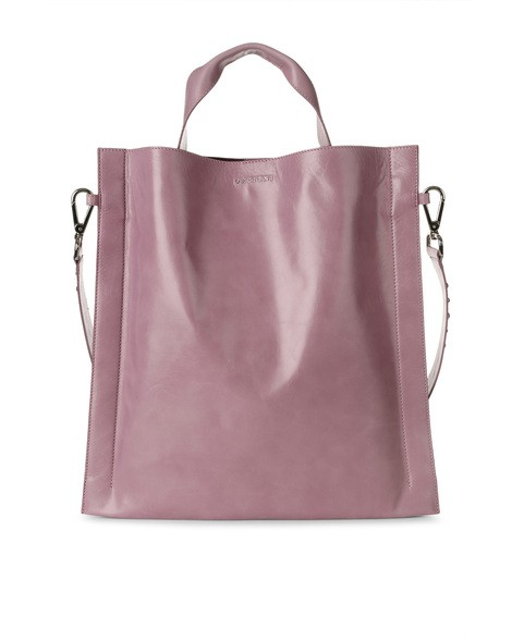 Orciani SHINE LEATHER TOTE BAG
