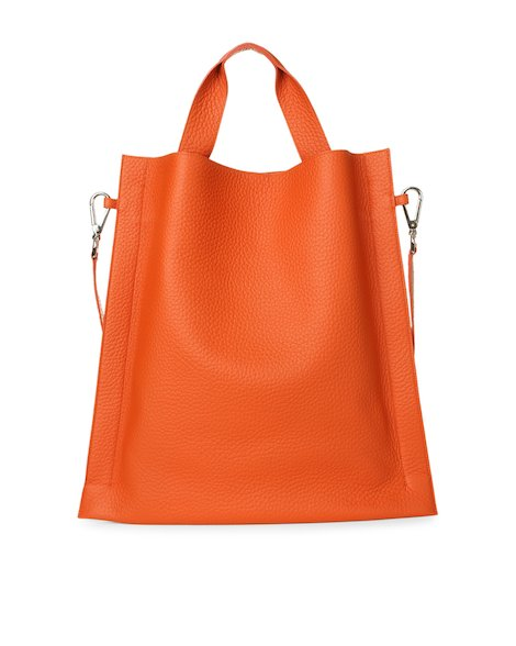 Orciani SOFT LEATHER TOTE BAG