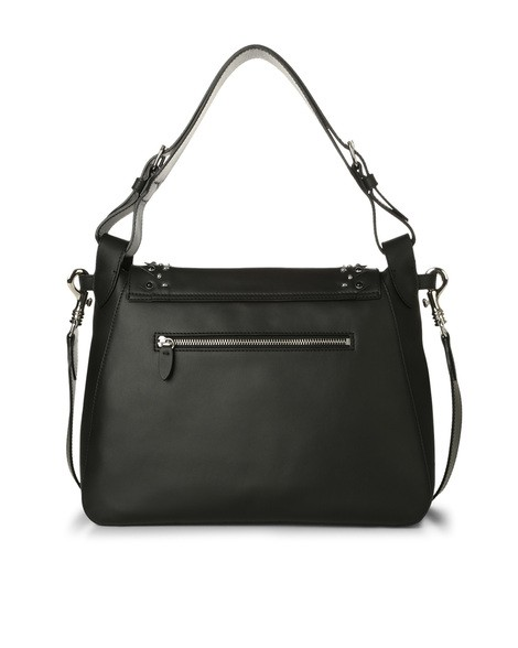Orciani CHIFFON SOIR LEATHER BAG