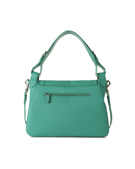 Orciani SOFT DOUBLE LEATHER BAG