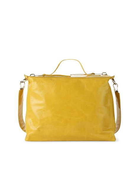 Orciani SHINE LEATHER DUFFLE BAG