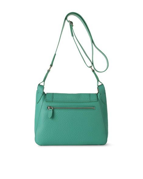 Orciani SOFT DOUBLE LEATHER CROSSBODY BAG