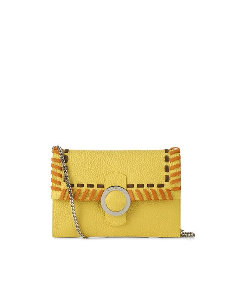 Orciani ETHNIC SOFT LEATHER CLUTCH