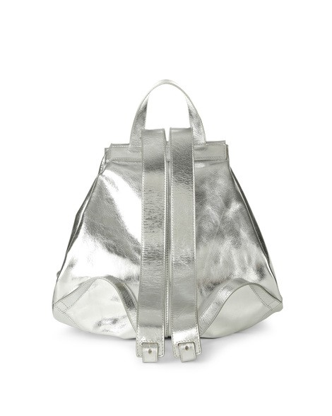 Orciani METALLIC LEATHER BACKPACK