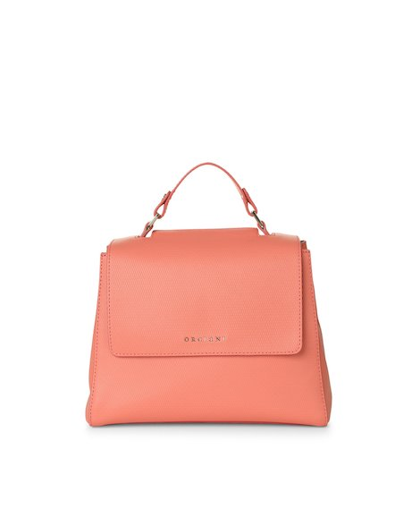 Orciani MUSTANG LEATHER SMALL SVEVA BAG WITH STRAP