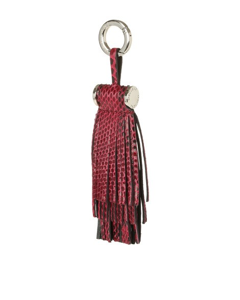 Orciani DIAMOND PYTHON LEATHER CHARM