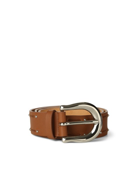 Orciani MONTANA MICRO STUDDED LEATHER BELT