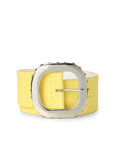 Orciani MUSTANG HIGH WAIST LEATHER BELT
