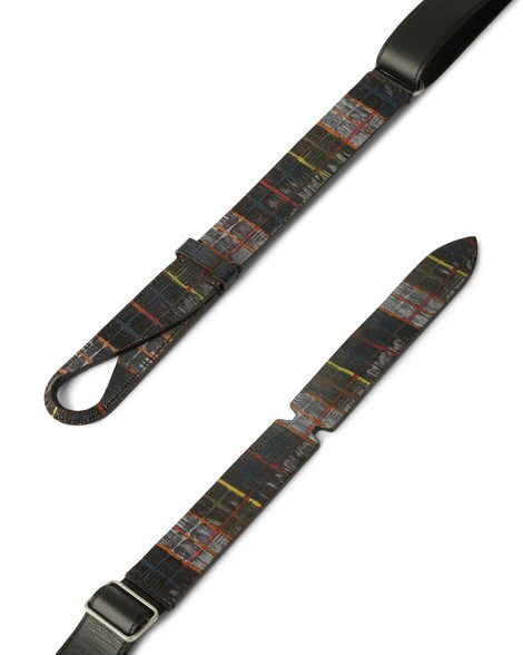 Orciani STUART LEATHER NOBUCKLE BELT