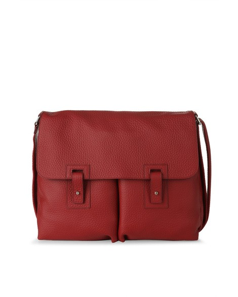 Orciani SOFT LEATHER SHOULDER BAG