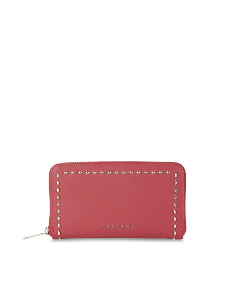 Orciani CHIFFON LEATHER WALLET