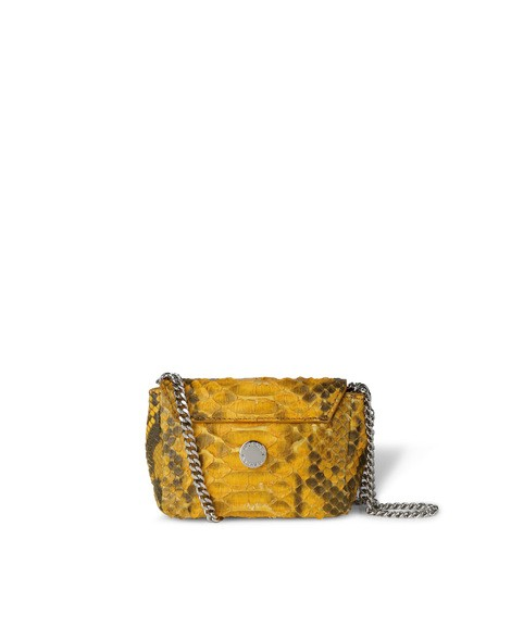 Orciani DIAMOND MATT PYTHON MICRO BAG