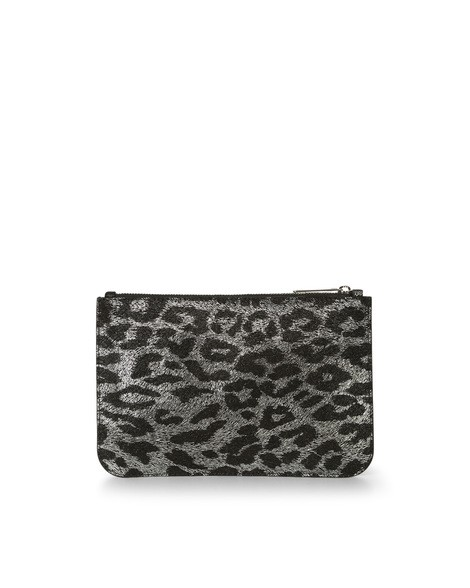 Orciani JUNGLE LEATHER POUCH