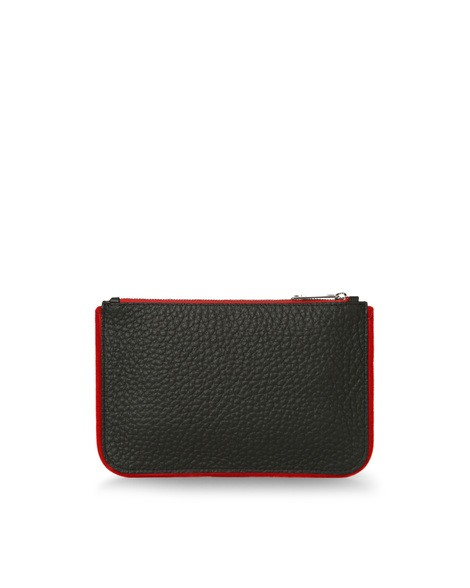 Orciani SOFT LINE LEATHER POUCH