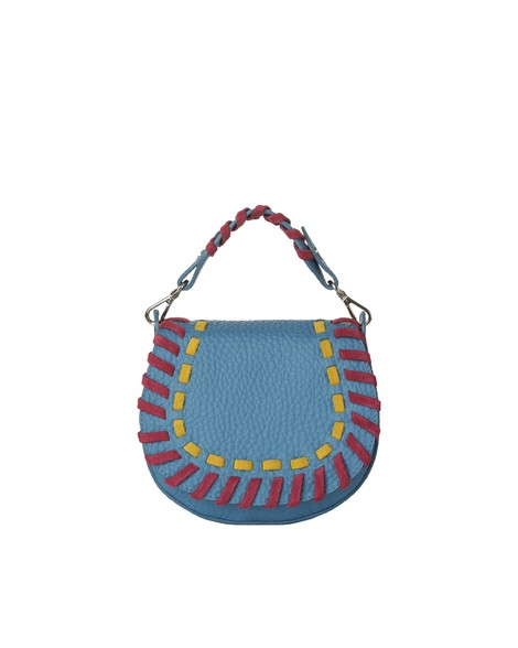 Orciani ETHNIC SOFT LEATHER MINI BAG