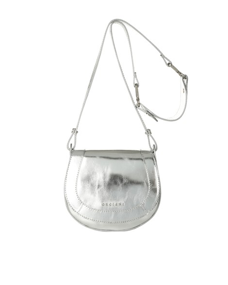Orciani METALLIC LEATHER MINI BAG