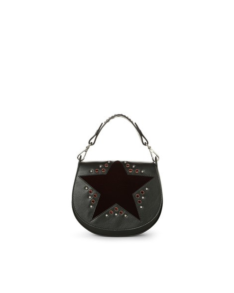 Orciani VELVET LEATHER MINI BAG