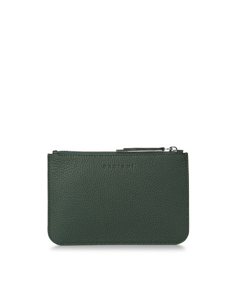 Orciani SAFARI SMALL LEATHER POUCH