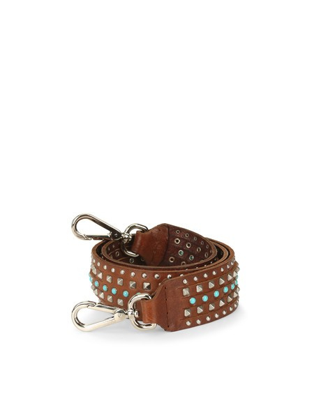 Orciani STAIN LEATHER SHOULDER STRAP