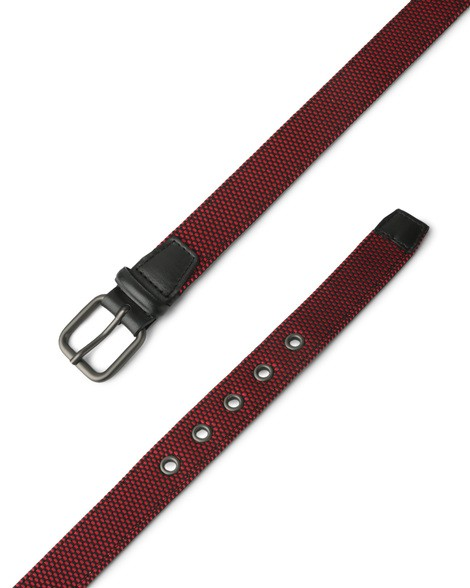 Orciani STREET FABRIC AND LEATHER BELT