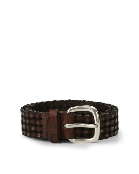 Orciani STAIN LEATHER BELT